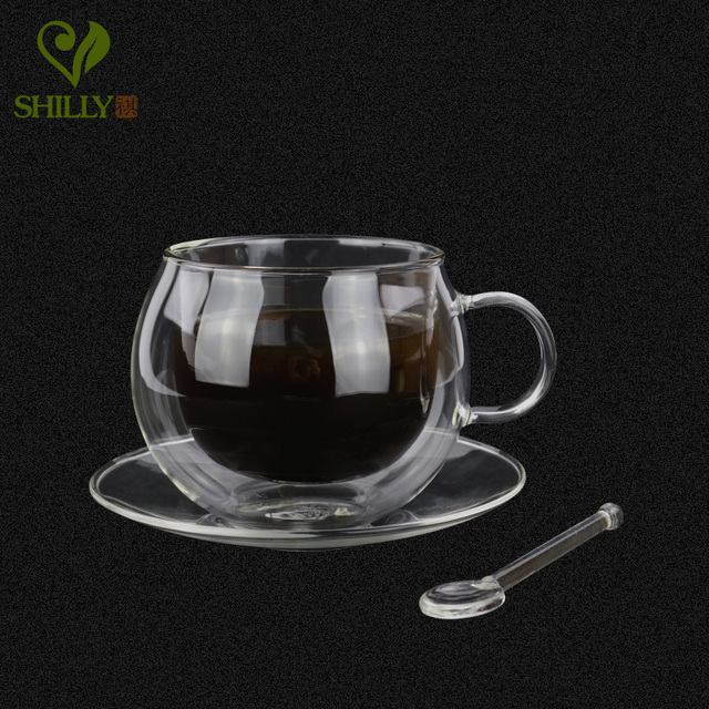 Новое поступление 220 мл высокого качества чашки кофе с двойной стенкой кружки ручной работы термостойкость чай с молоком чашки с ручкой