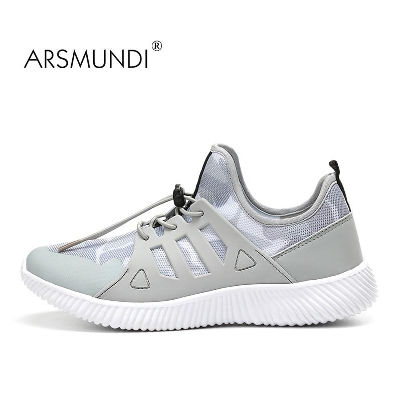 ARSMUNDI Kasut Berjalan Lelaki Kasut Yeezy Untuk Lelaki Bernafas Mesh Kasut Athletic Luar Lelaki yang selesa Kasut Sniker Penghantaran Percuma