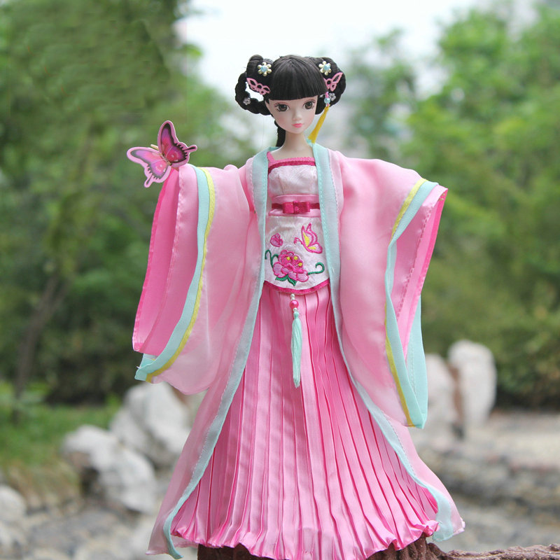 ФОТО 2016 new kurhn  dolls chinese princess wen cheng 28cm jointed doll bjd 1/6 doll girls toys kids gifts birthday presents