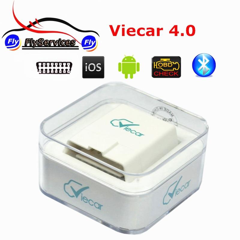 ELM 327 Viecar 4.0 Bluetooth OBD2 Outil De Diagnostic ELM327 Viecar 4.0 Avec Voiture HUD Affichage Fonction Soutien Android et IOS