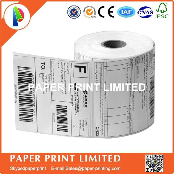 3 Roll/Lot TOP Direct Thermal Labels 100MM X100MM (500 labels) zebra  shipping label usps 4
