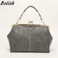 2014 Autumn And Winter Women S Handbag Portable One Shoulder Cross Body Nubuck Leather Fashion Vintage