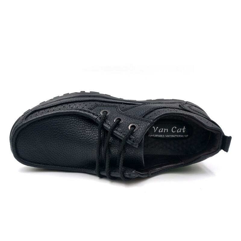 VANCAT marque taille 38-48 mode fait à la main marque en cuir véritable chaussures plates pour homme, mocassins hommes en cuir souple, chaussures hommes de haute qualité - 5