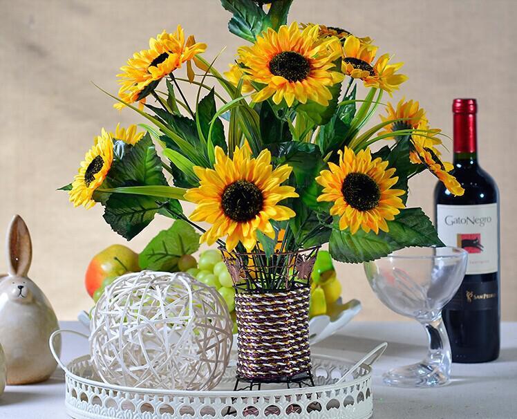 New wedding table centerpieces bouquet artificial