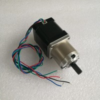 42BYG Planetary deceleration stepper motor 1.68A 62Oz in 4.4kg.cm 2 phase Stepping motor with reduction ratio 5.18:1