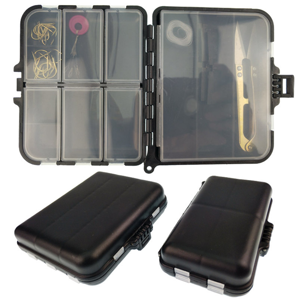 2018 High Quality Fishing Bags Waterproof Fishing Accessories Box Case Fishing Lures Box Spoon Hooks Baits Case Storage Bags