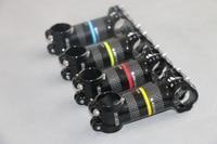 Road Bike Carbon Handlebar Stem Ultra Light Highway Mountain Fold Bicycle Stems Aluminum Alloy 3K Carbon