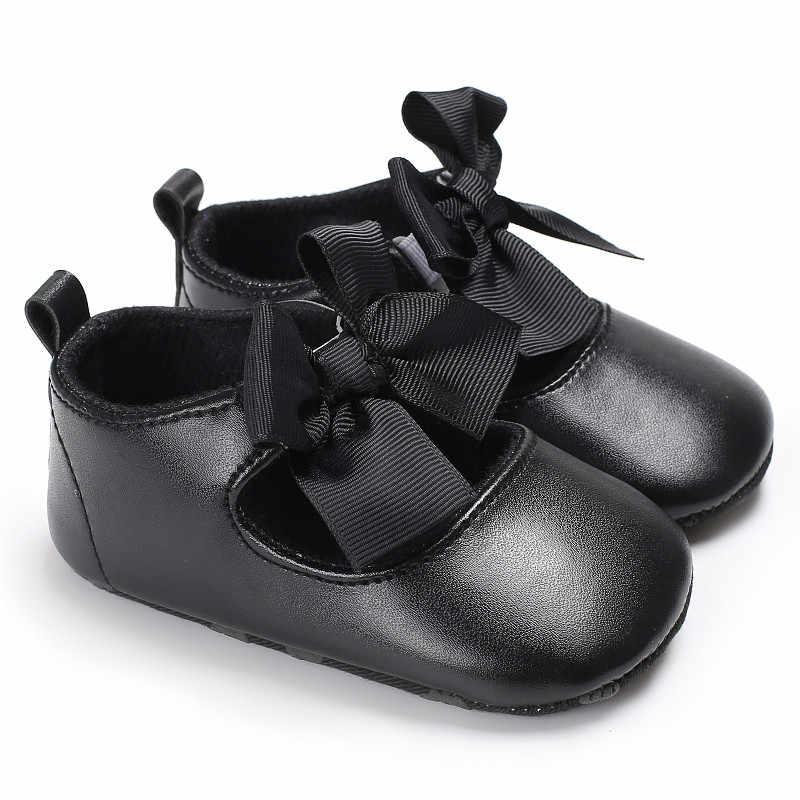 2018แฟชั่นใหม่หนังPUบิ๊กกุทัณฑ์ด้านล่างนุ่มเด็กรองเท้าเด็กลื่นรองเท้าP Rewalkersรองเท้าแตะทารกแรกเกิดทารกรองเท้า