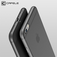CAFELE Slim Phone Cases For Iphone 6 6S Case Silicone Luxury Anti-Fingerprint PP Shockproof Back Cover For Iphone 7 Plus Case