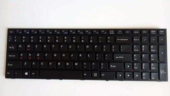 New for Clevo P651 P651SG P651SA P651SE P651SE XMG P505 Gaming laptop Keyboard US Backlit frame black