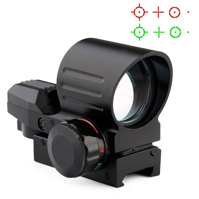 Tactical red dot 1x22 reflex sight red dot red/green sight hunting scope free shipping red