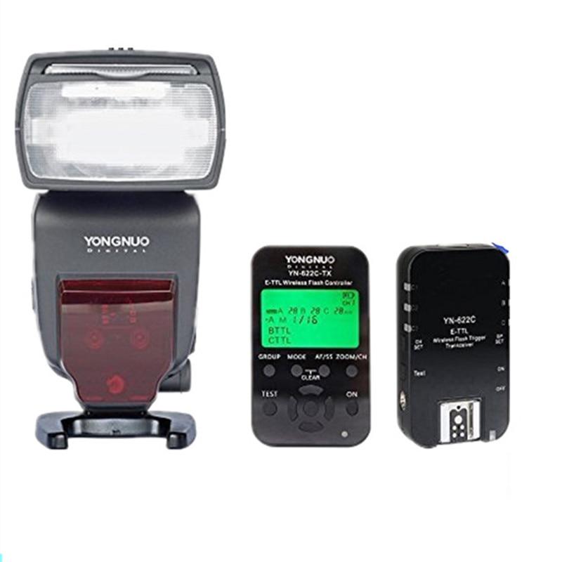 Yongnuo YN685 YN-685 ETTL HSS Wireless Flash Speedlite+YN-622 KIT Flash Trigger Transeiver for Canon Nikon DSLR Cameras yongnuo speedlite yn685 вспышка для canon
