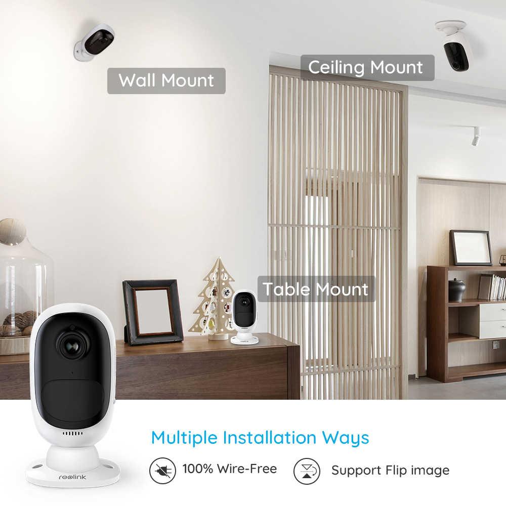 Reolink камера WiFi 1080P с питанием от аккумулятора IP камера Full HD наружная внутренняя безопасность 130 широкий угол обзора Argus 2