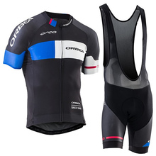 Orbea 2017 Cyclisme Jersey Mens Route Racing Maillot Usage de Bicyclette Ropa Ciclismo Vtt Vélo Cycle Jersey Cyclisme Vêtements # DH-58