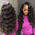 4 Bundles Loose Wave Virgin Hair 8A Brazilian Loose Wave Virgin Hair Bundle Deals Unice Hair Company Loose Curly Human Hair