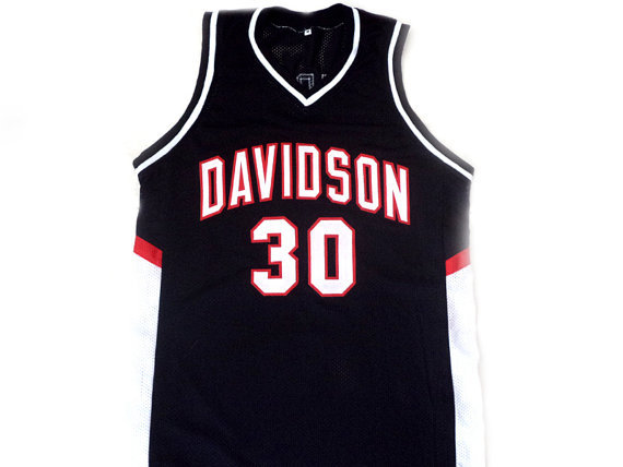 new style 83d10 97b24 authentic stephen curry davidson jersey