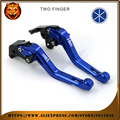 For YAMAHA VMAX V-MAX 2009-2014 RED BLACK BLUE NEW STYLE MOTOR MOTOBIKE Motorcycle Adjustable Short Brake Clutch Levers