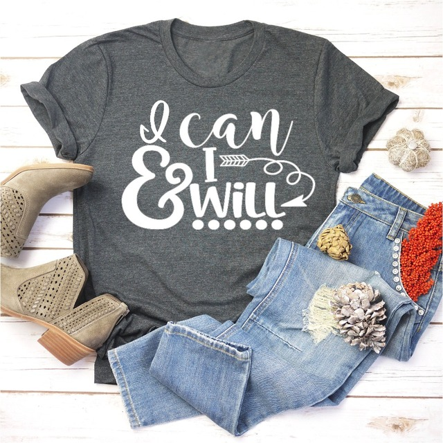 I Can And I Will Graphic T-Shirt