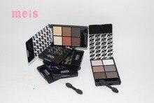 MEIS Brand Makeup Cosmetics Professional Makeup 6 Colors Eye Shadow Eyeshadow Palette Matte Eyeshadow Eye Shadow Palette MS0620