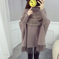 2017 Women Pullover Fashion Autumn Winter Warm Turtleneck Women Sweater Long Sleeve Casual Loose Sweaters Knitted