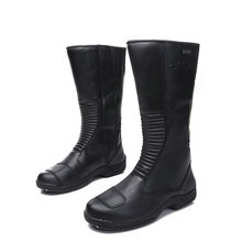 ARCX Motorcycle Boots Lapel Men Leisure Shoes Road Cycling Bike Scooter Motorbike Casual Boots Shoes Leather