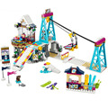 Lepin 01042 Friends Snow Resort Ski Lift Gift Club Vacation Figure Building Blocks Bricks Toys Girls Christmas Gift Legoings Toy