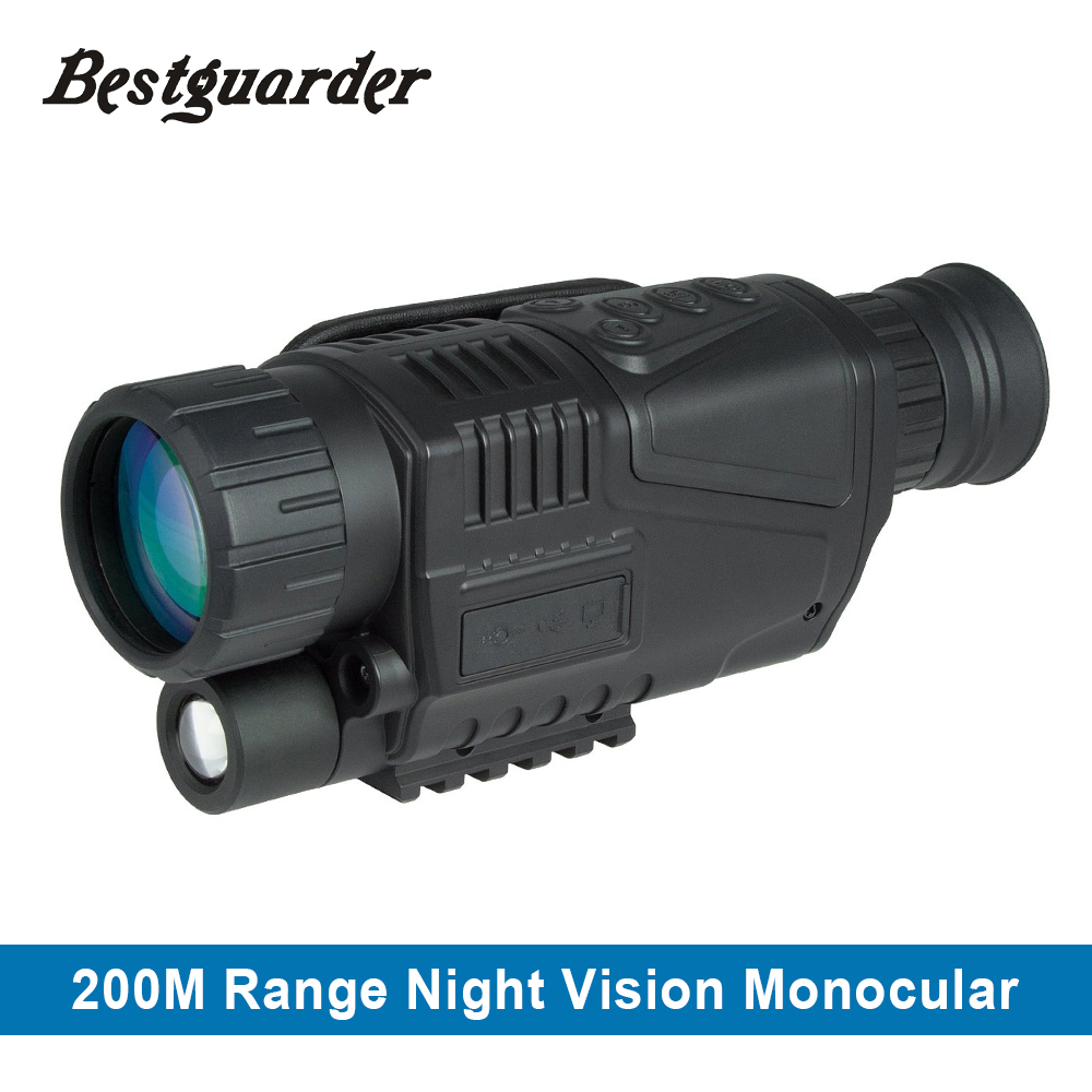 5X40 Tactical Digital IR Infrared Hunting Night Vision Goggles Scope Night Vision Monocular Hunt Night Riflescope Telescope