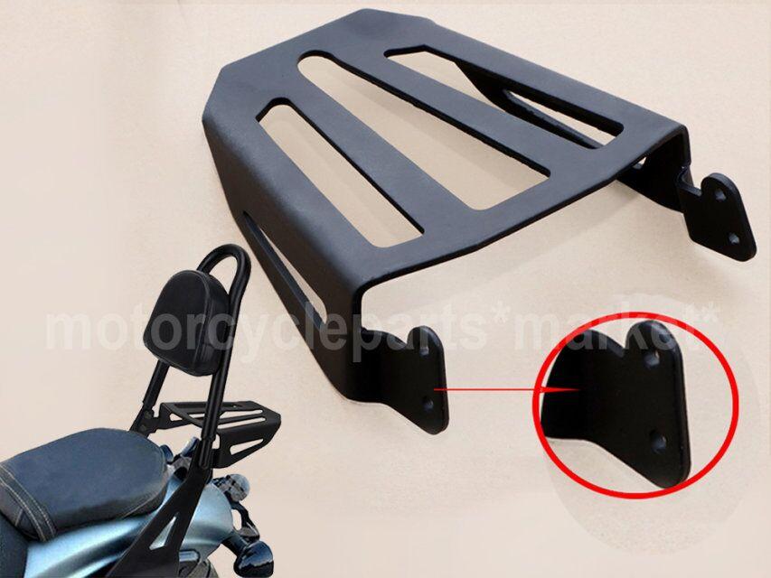 For Yamaha Star Bolt XVS950 XV950 XVS XV 950 2014-2017 15 16 Steel Sport Sissy Bar Backrest Rear Luggage Rack Motorcycle Black