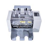 A4 Размеры автоматический Бизнес карты резки резак Multi-Функция Электрический Бумага для резки, Бумагорезальные машины SSA-001
