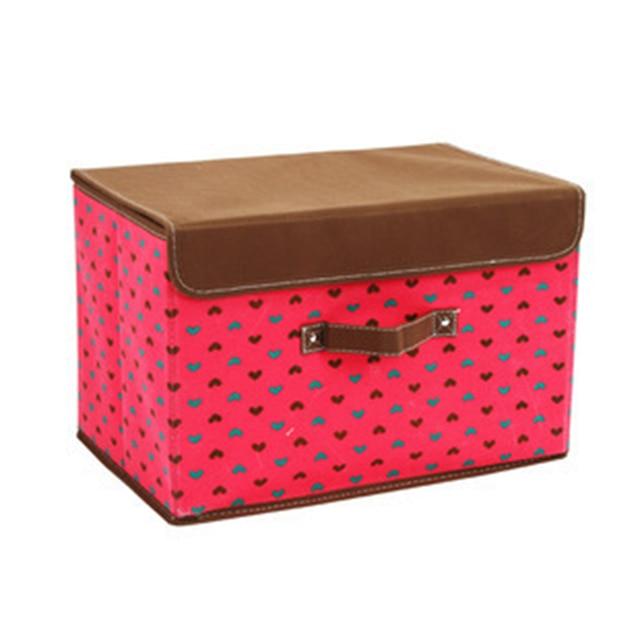 27*21*17cm Non-Woven Fabric Clothes Organizer Storage Box Clothing Pouch Holder Blanket Pillow Storage Storage Box Bag