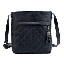 4566d73e3963 2019 модная маленькая сумка с кисточками женские сумки-мессенджеры  решетчатые женские сумки через плечо мягкие