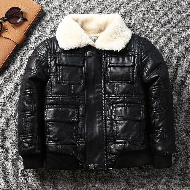 Winterjacke baby schwarz