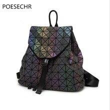 Poesechr брендовые винтажные женские рюкзак нубук кожа + PU школьные рюкзаки для девочек-подростков Повседневная Большая емкость сумки на плечо