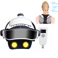 Health Electric Head Massager Head Helmet Brain Stress Relaxing Massage Acupuncture Device Shiatsu Massage Therapy