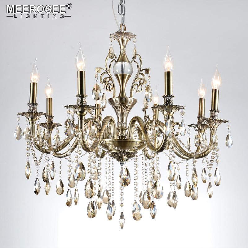 Lustres modernes lumière de luxe Lustre lustres en cristal luminaires lampe pour salon chambre et étude lampe de projet