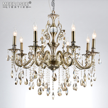 hot deal buy modern chandeliers light luxury lustre crystal chandeliers lighting fixtures lamp for living room bedroom and study project lamp