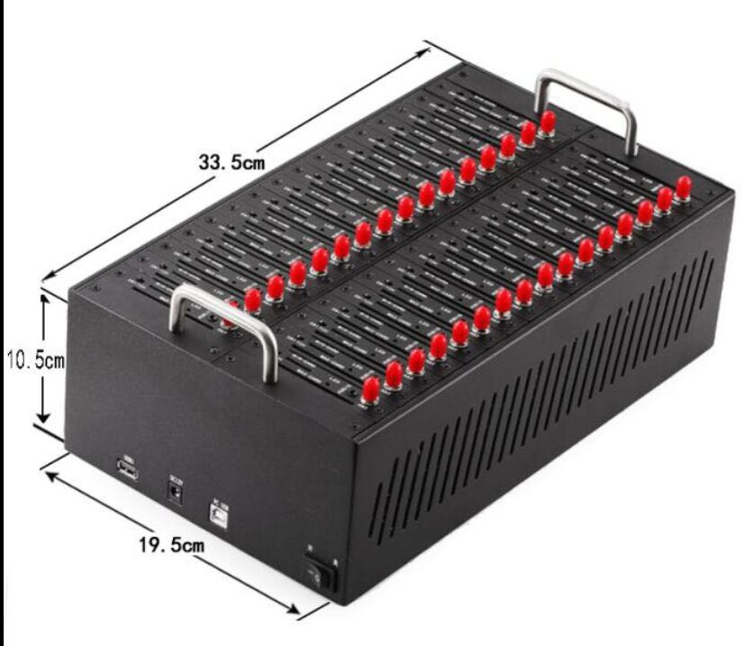 Antecheng hot sell 32 ports usb gsm modem pool MTK M35 modem support IMEI change sending/ recevingModems   -