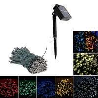 200 LED Solar Licht Outdoor Wasserdicht LED String Fairy Lichter Weihnachten Girlande Solar Street Lampe für Garten Dekoration