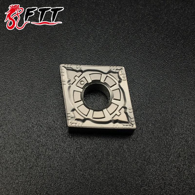 Outils de coupe à tour en carbure de qualité Cermet, CNMG120404 FG CT3000, outils de coupe à tour, outils de tournage externe CNC, 10 pièces