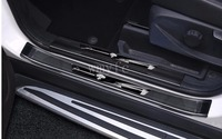 Auto Styling Aufkleber Für ford kuga 2013 2014 2015 2016 2017 edelstahl Tür schwellen verschleiss platte Schützt Einstiegsleisten schutz-in Nerf Bars & Trittbretter aus Kraftfahrzeuge und Motorräder bei