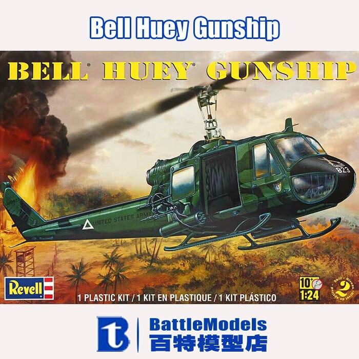 Revell MODEL 1/24 SCALE military models #85 5633 Bell Huey