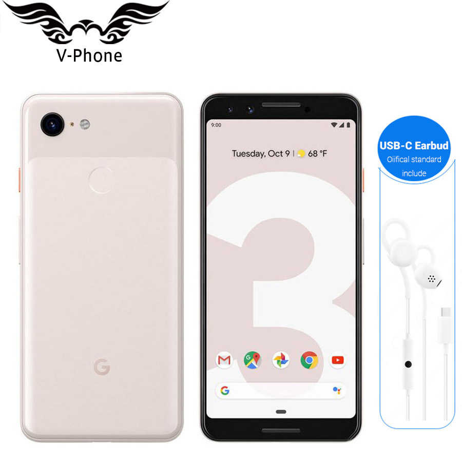 Brand New Original Google Pixel 3 Mobile Phone Snapdragon 845 4GB 64GB 128GB 5 5 Octa