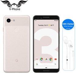 Zupełnie nowy oryginalny Google Pixel 3 snapdragon do telefonu komórkowego 845 4GB 64GB 128GB 5.5