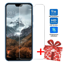 ZOKTEEC Premium Tempered Glass for Huawei P8 P9 Lite 2017 P20 P10 Plus 9H HD Film Screen Protector Protective Case