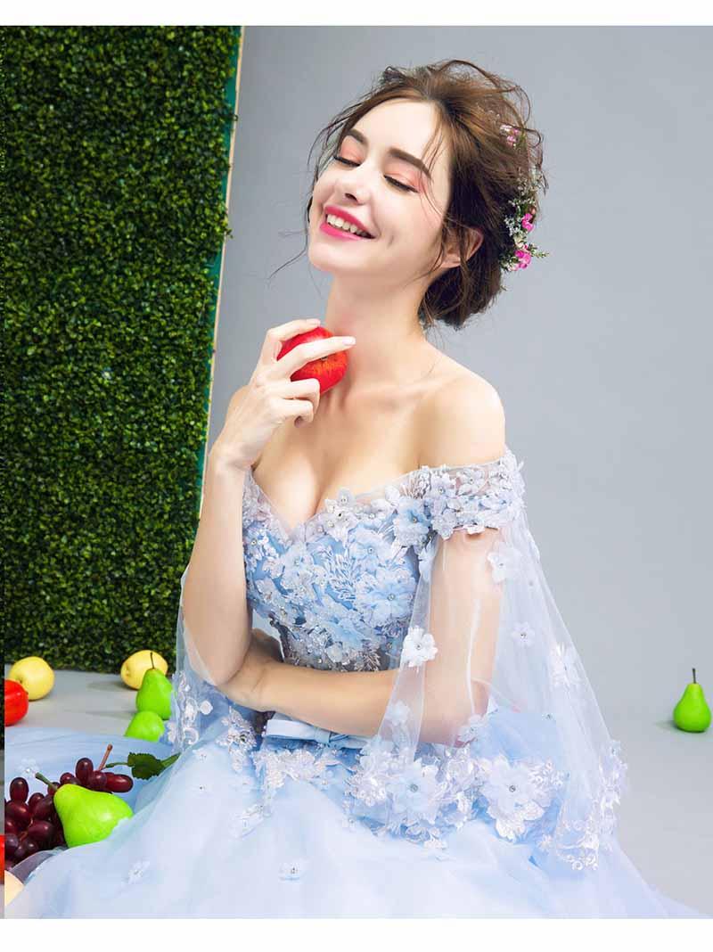 Plus Size 5XL Luxe Sequin Blue Prom Baljurk Avond Party Dress Vrouwen Bruiloft Bruidsjurk Verjaardagscadeau Voor Vrouwen 6XL 4XL-in Jurken van Dames Kleding op  Groep 2