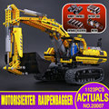 NUEVA LEPIN 20007 1123 unids Technic serie excavadora Modelo Kit de Construcción de Bloques de Ladrillo Compatible Juguete de Regalo de Navidad 8043