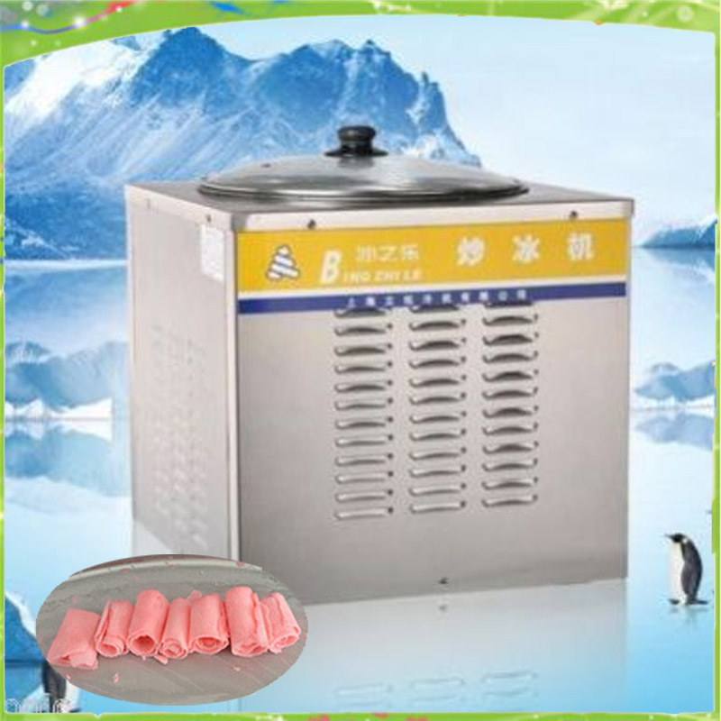 fry ice  machine New Ice Maker  Ice Pan Machine fried ice machine for sale цены онлайн