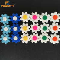 Free Shipping New Arrival 40pcs A Lot Multi Colored Sunflower Tennis Racket Shock Absorber
