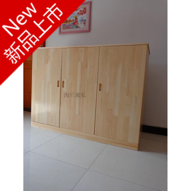 barato muebles de pino pino armario armario armario combinacin de tres nios armario armarios del gabinete