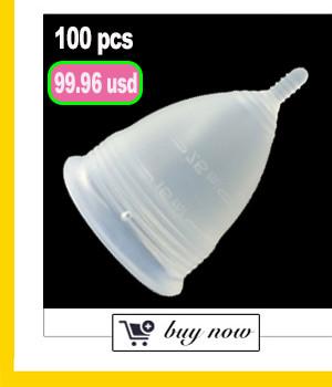50pcs/lot Wholesale Reusable lady cup silicon woman coupe menstruelle copo menstrual silicone diva cup feminine hygiene product 5